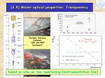 3 4 water optical properties transparency