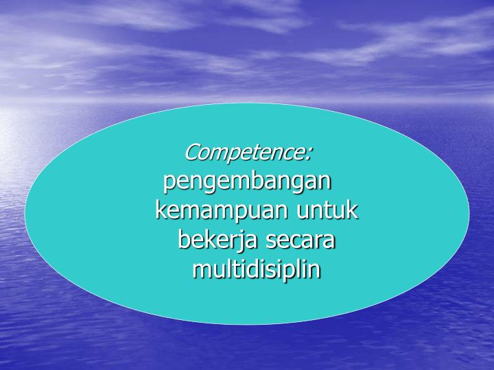 Competence:
