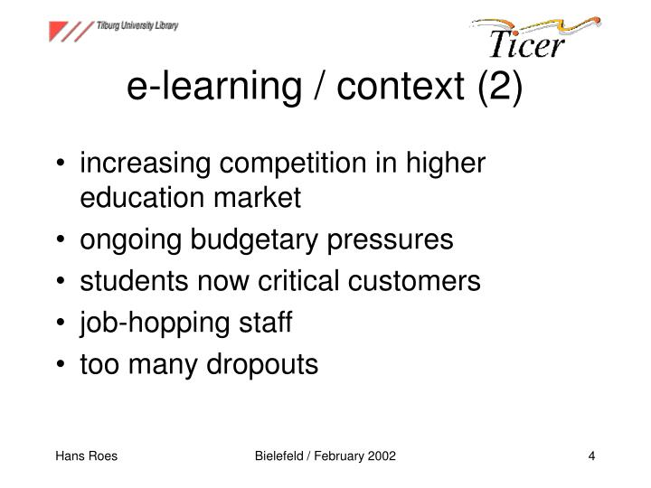 e-learning / context (2)