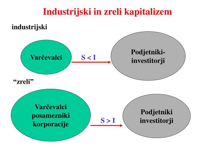 Industrijski in zreli kapitalizem