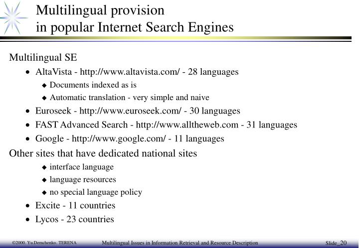 multilingual internet 1 introduction: welcome to the multilingual internet  3 the multilingual and  multiorthographic taiwan-based internet: creative uses of writing.