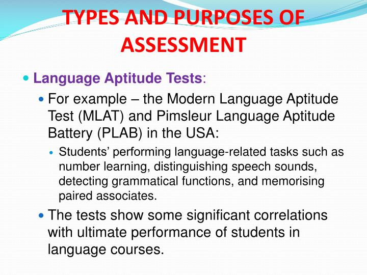 modern language aptitude test