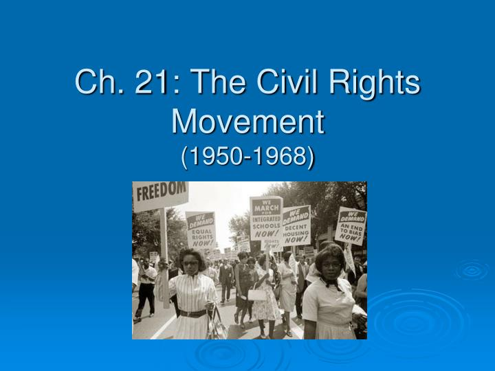 about the civil rights movement