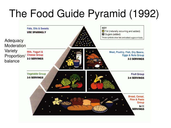 The Food Guide Pyramid (1992)