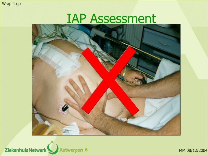 IAP Assessment