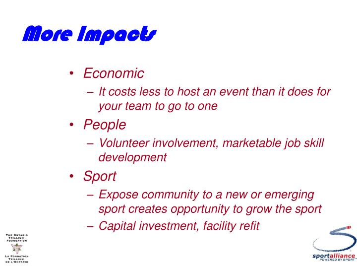 More Impacts