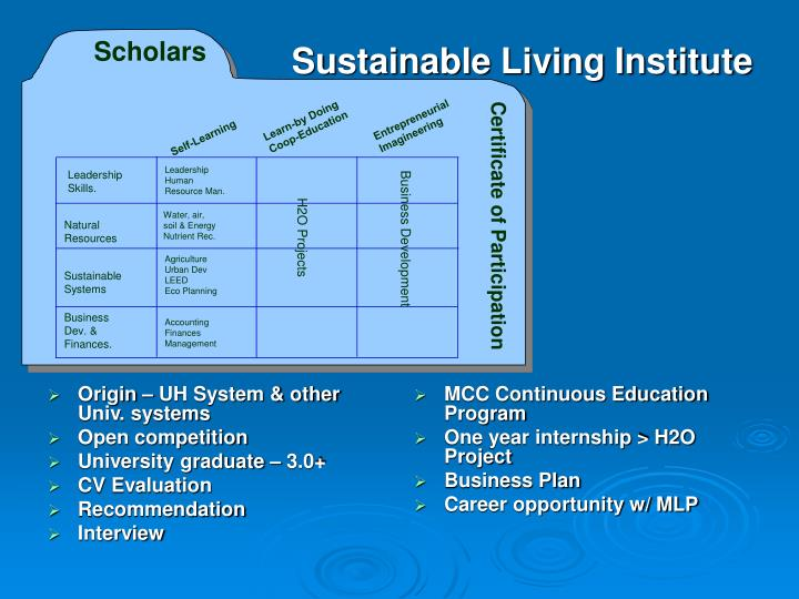Origin – UH System & other Univ. systems
