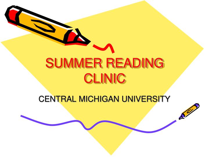 summer reading clinic n.