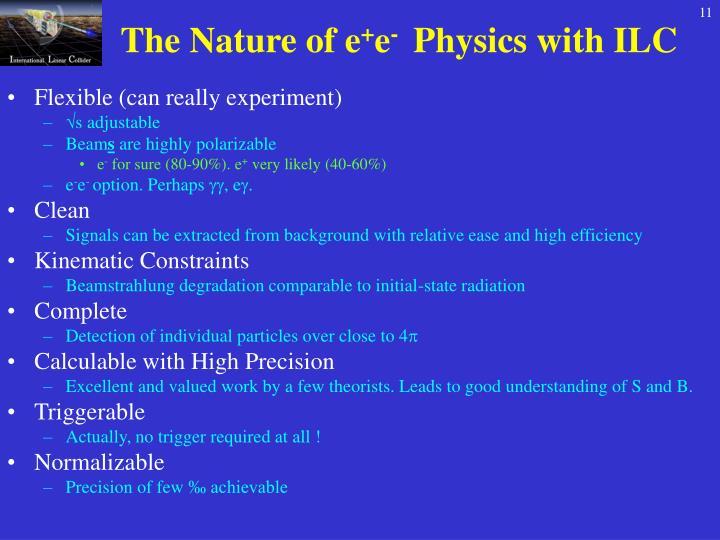 The Nature of e