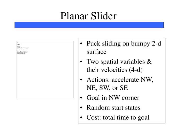 Planar Slider