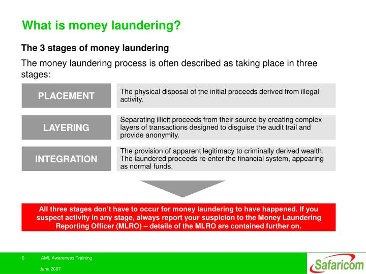 ppt anti money laundering awareness training powerpoint
