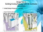 design task 2 building envelop redesign with air ventilation assessment
