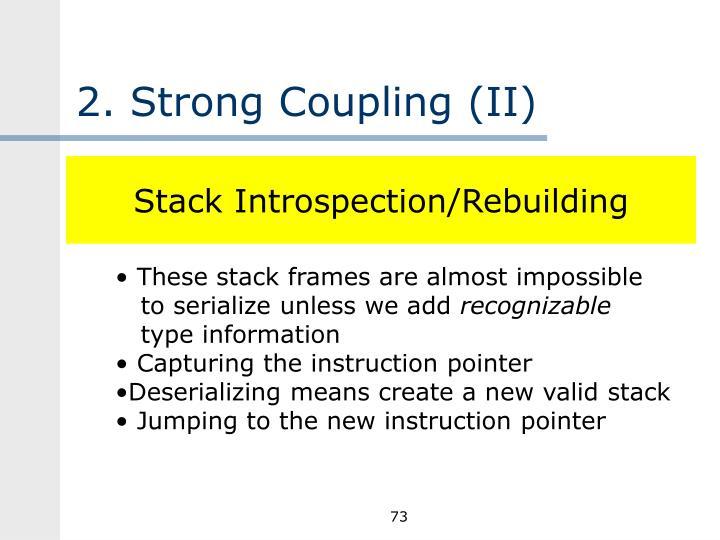 2. Strong Coupling (II)