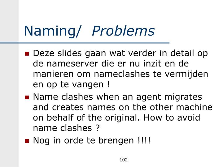 Naming/