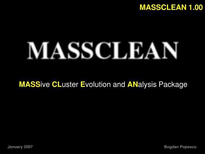 MASSCLEAN 1.00