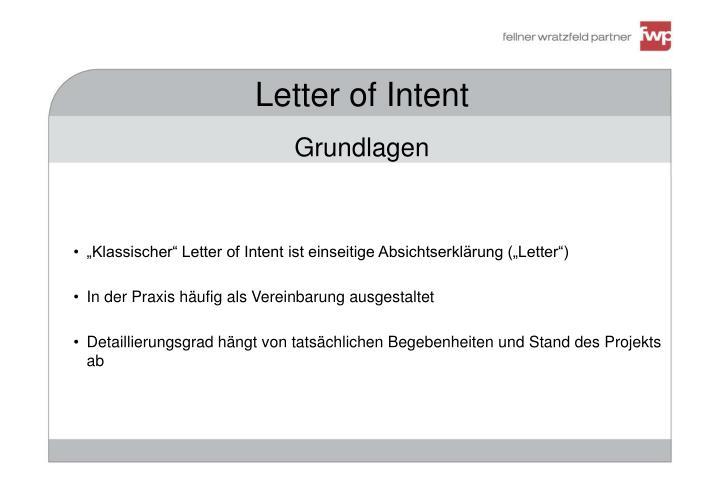 Ppt letter of intent powerpoint presentation id4343942 letter of intentgrundlagen spiritdancerdesigns Images