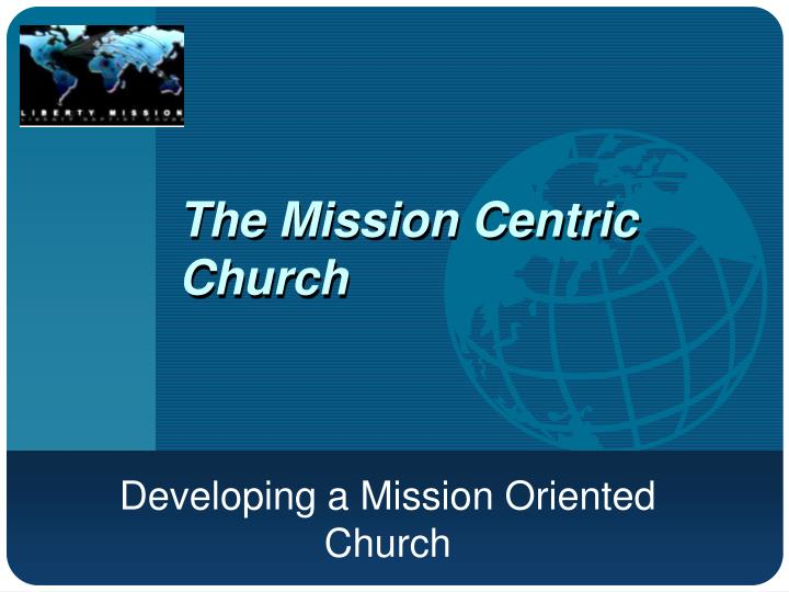 the mission centric church n.
