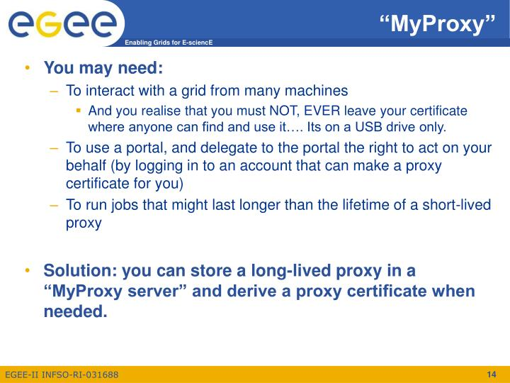"""MyProxy"""