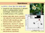 hybridizace1
