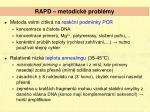 rapd metodick probl my
