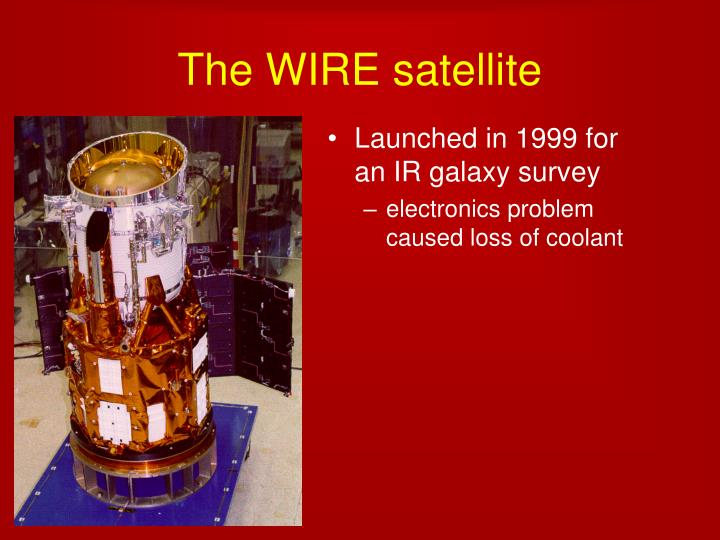 The wire satellite