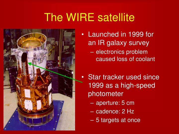 The wire satellite1