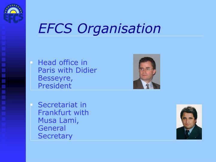 Efcs organisation