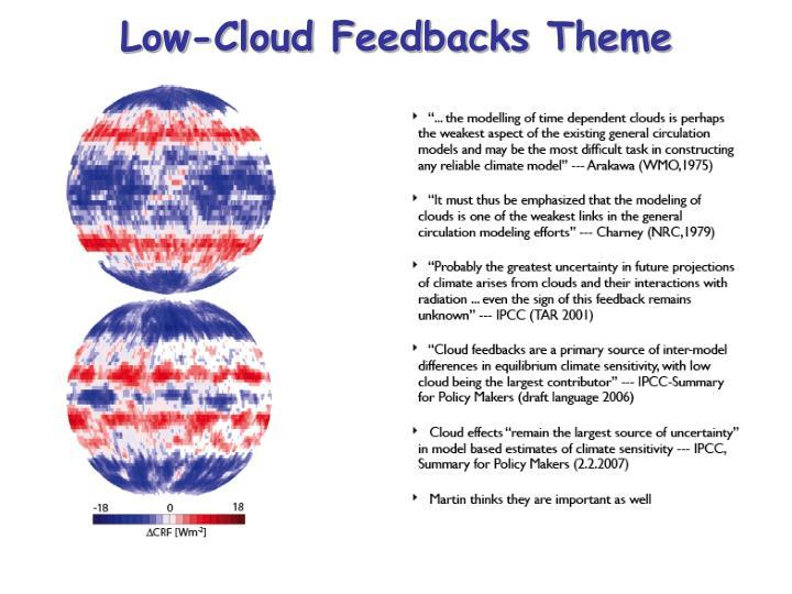 Low-Cloud Feedbacks Theme