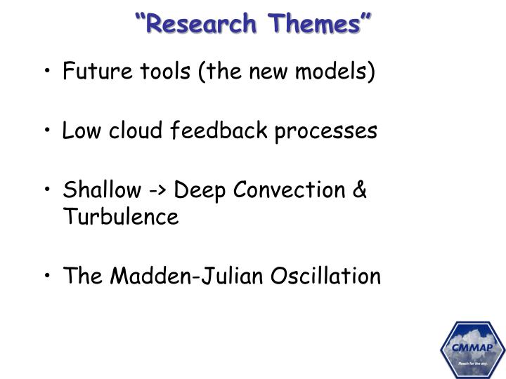 """""""Research Themes"""""""