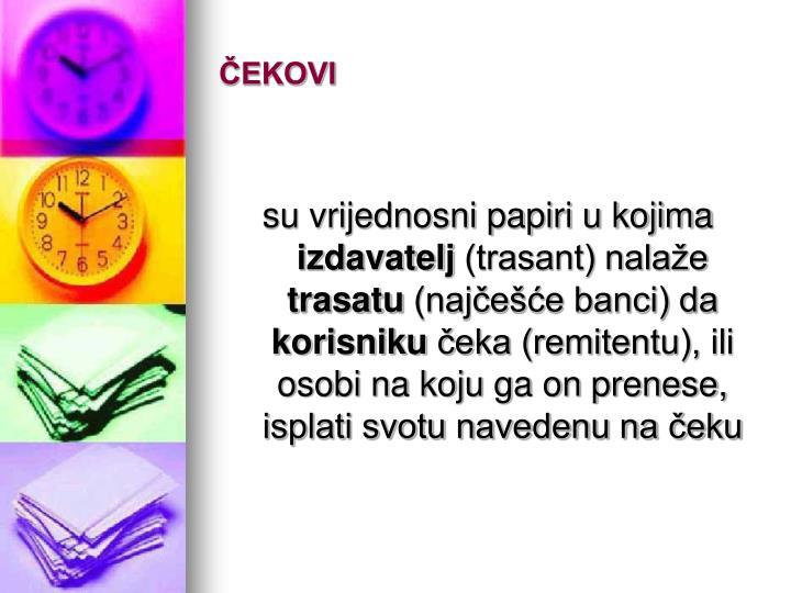 ČEKOVI