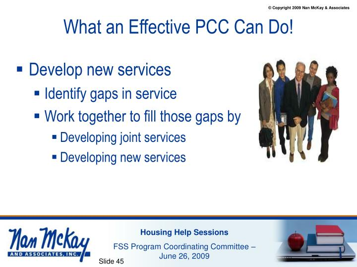 What an Effective PCC Can Do!