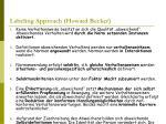 labeling approach howard becker
