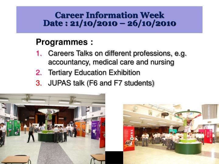 Career Information Week