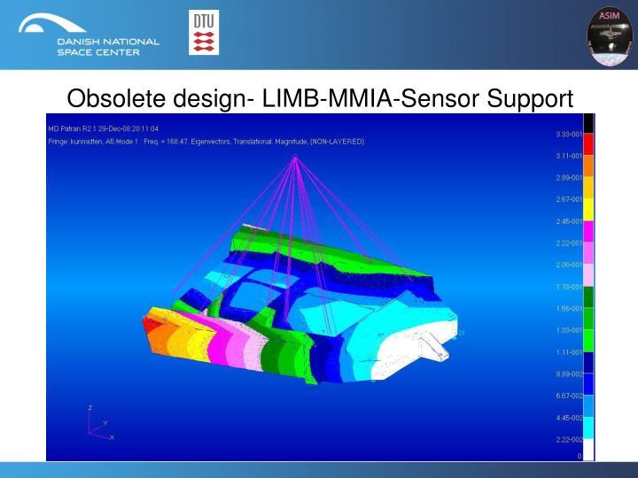 Obsolete design- LIMB-MMIA-Sensor Support