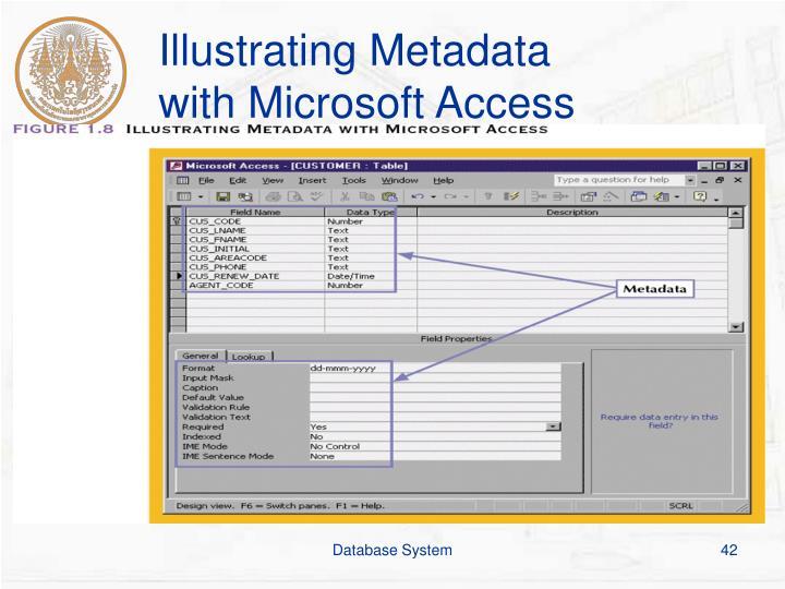 Illustrating Metadata