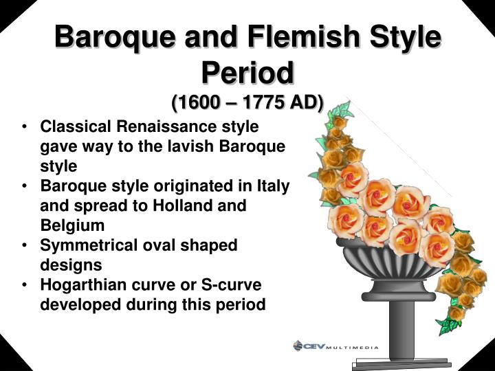 Baroque and Flemish Style Period