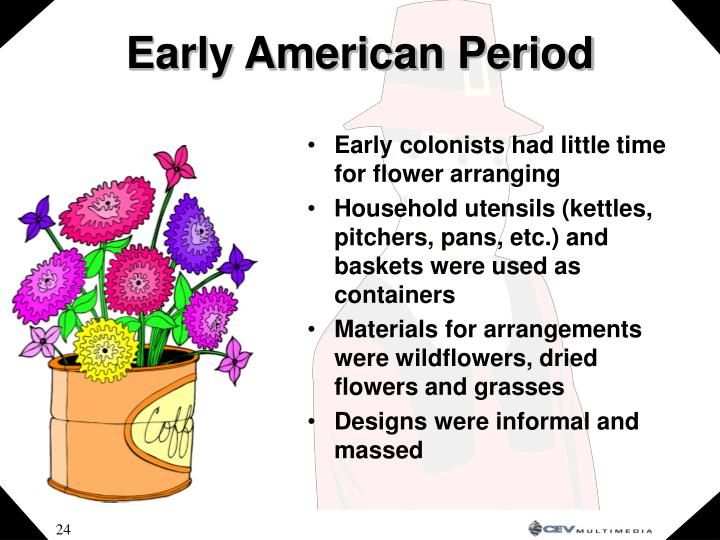 Early American Period
