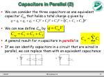 capacitors in parallel 2