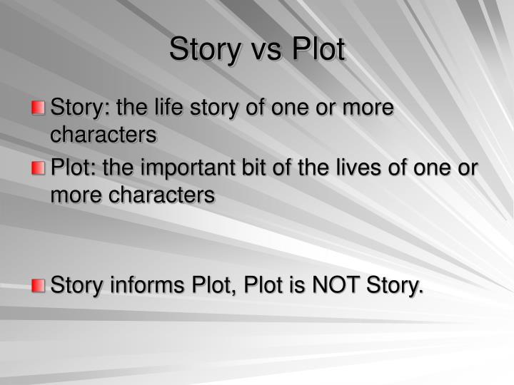 Story vs Plot