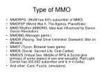 type of mmo