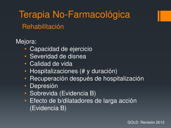 Terapia No-Farmacológica
