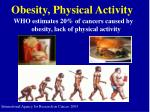 obesity physical activity