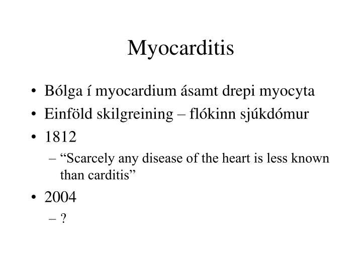 Myocarditis1
