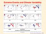 extreme events and climate variability
