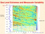 sea level extremes and mesoscale variability1
