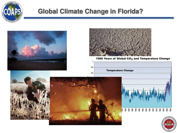 global climate change in florida n.