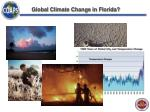 global climate change in florida