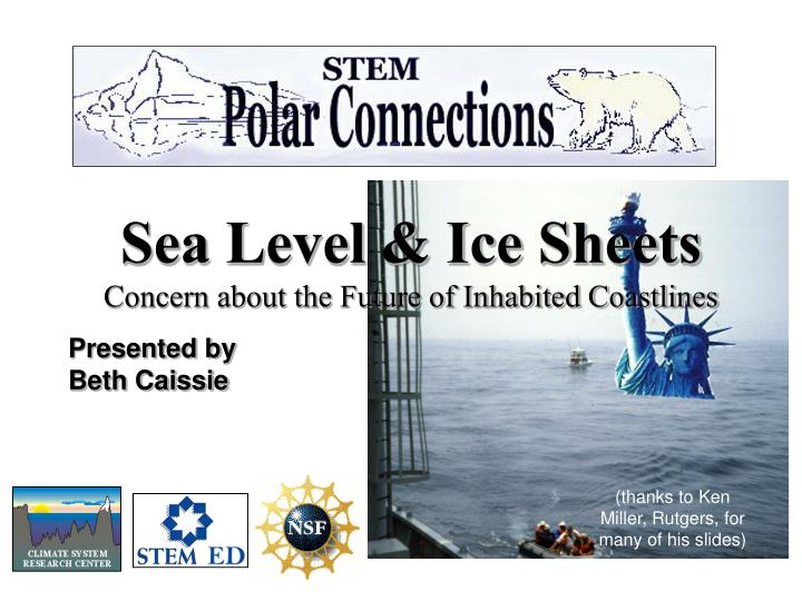 Sea Level & Ice Sheets