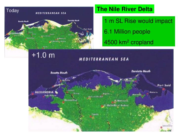 The Nile River Delta