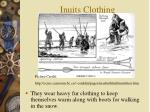 inuits clothing